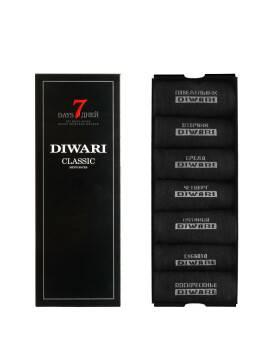 Носки мужские CLASSIC 7 дней (7 пар) 5С-08СП, размер 25, цвет черный