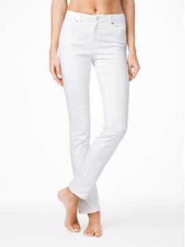 Джинсы женские классические Классические прямые джинсы с эффектом