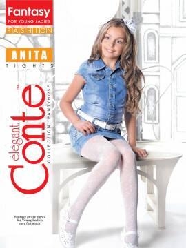 колготки полиамидные детские ANITA 13С-40СП, размер 158-164, цвет grafit