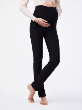 Леггинсы женские Леггинсы для будущих мам WINDY BELLY 18С-594ТСП, размер 164-102, цвет nero
