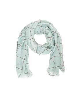 шарф женский CS013 , размер 180,0х90,0, цвет мятный