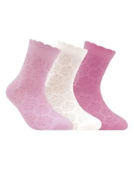 Носки хлопковые детские BRAVO (жаккардовые) 14С-13СП, размер 18, цвет сиреневый