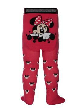 Колготки детские Disney 17С-130СПМ, размер 62-74, цвет малиновый