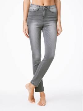 джинсы женские классические ультракомфортные джинсы skinny CON-49 , размер 164-90, цвет серый