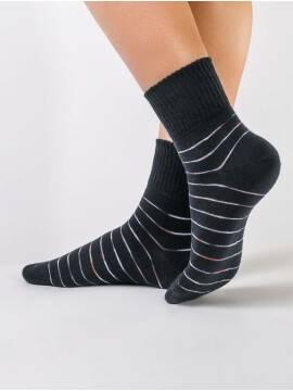 Носки хлопковые женские COMFORT (резинка MAXI) 12С-44СП, размер 23, цвет южная ночь