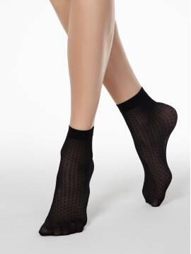 носки женские носки в горошек FANTASY 20 16С-127СП, размер 23-25, цвет bronz