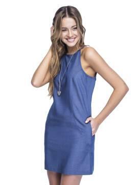 платье женское платье LPL 530 15С-080ТСП, размер 164-92-100, цвет синий