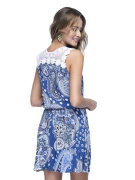 Платье LPL 529 15С-079ТСП, размер 164-84-92, цвет синий