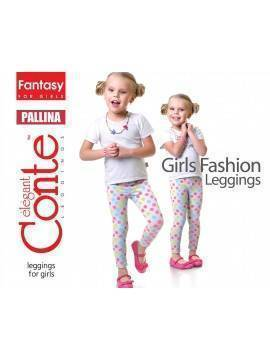 Леггинсы для девочек PALLINA 15С-106ДТСП, размер 110,116-56, цвет fuchsia melange
