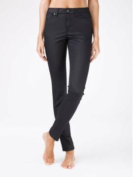 Джинсы женские классические Моделирующие джинсы с высокой посадкой и напылением
