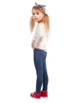Леггинсы для девочек SMILE 16С-255ДТСП, размер 110,116-56, цвет denim