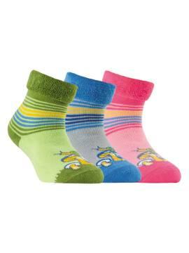 Махровые носки SOF-TIKI с отворотом