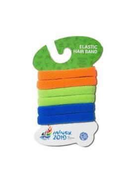 резинка для волос комплект резинок (6 штук) в цветах эмблемы