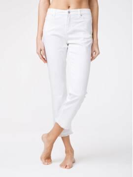 брюки джинсовые укороченные джинсы со средней посадкой CON-118 CON-118, размер 164-94, цвет white