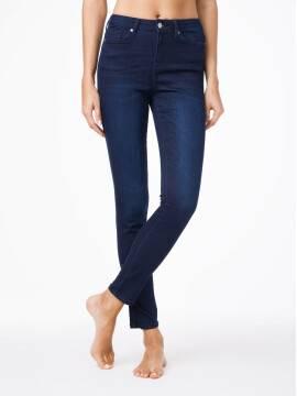 Джинсы женские классические Ултракомфортные джинсы Skinny с высокой посадкой CON-82 CON-82, размер 170-102, цвет темно-синий