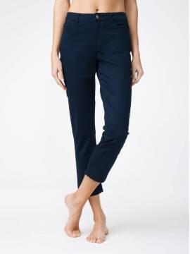 брюки джинсовые укороченные джинсы со средней посадкой CON-139B CON-139B, размер 164-90, цвет dark navy