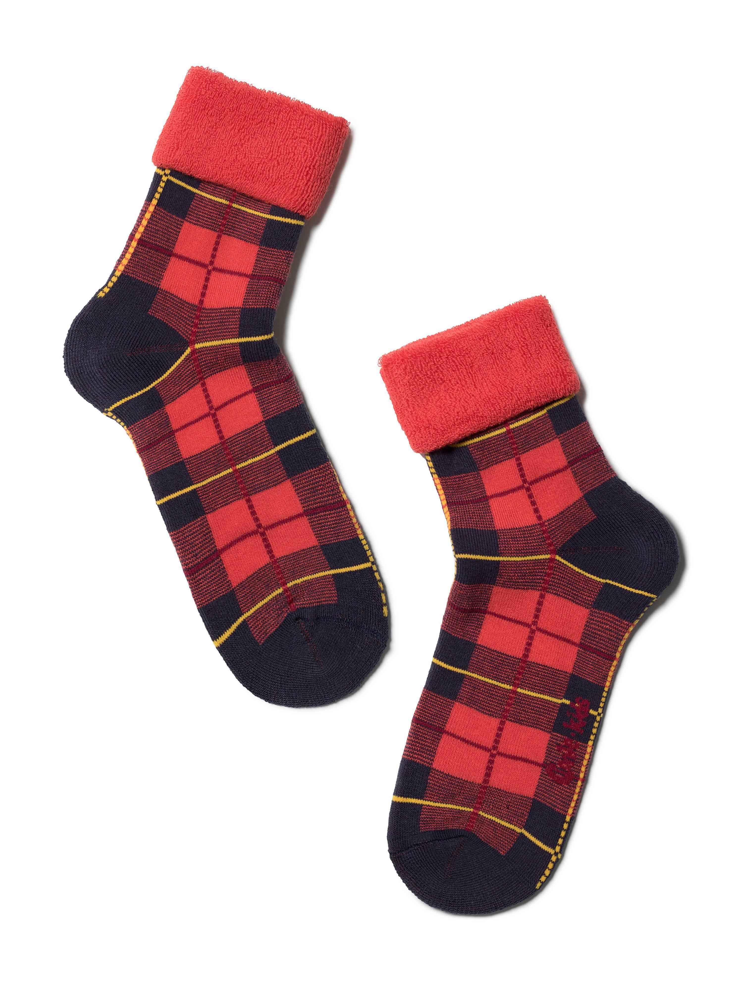 Носки хлопковые детские ⭐️ Махровые носки SOF-TIKI с отворотом ⭐️